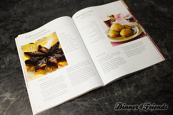 Im Plätzchen, Cookies & Co.-Backbuch gibt es nicht nur Rezepte für die Weihnachtsplätzchen, sondern auch noch viieeele andere Rezepte für süße Leckereien.
