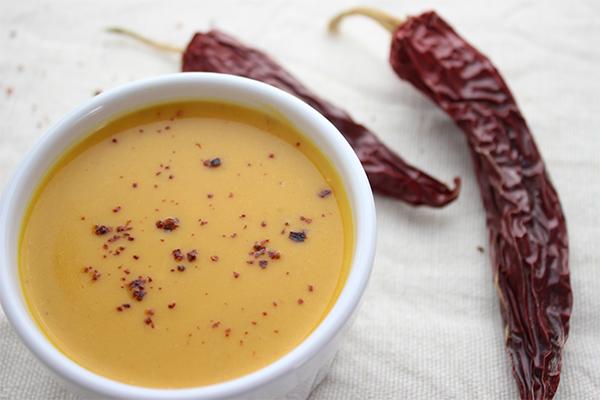 Kürbissuppe mal anders - scharf und mit Aschanti