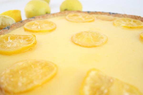 Zitronentarte satt