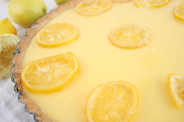 Zitronentarte zum Verlieben