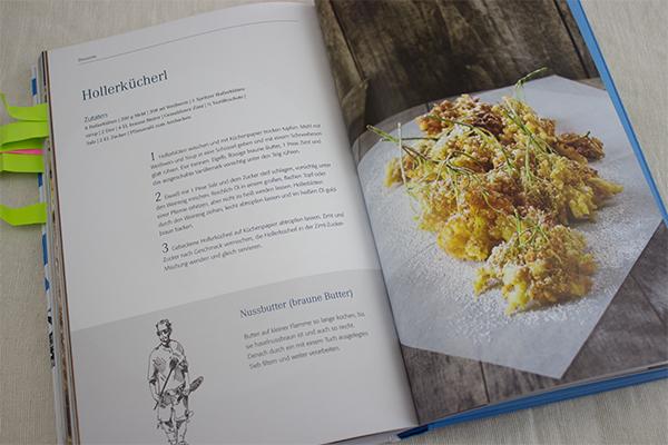 Die neue Bayrische Küche mit einem Klassiker: Hollerkücherl