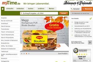 Bei mytime.de bekommen wir alles, was es im normalen Supermarkt auch gibt - Lieferung frei Haus mit Wunschtermin!